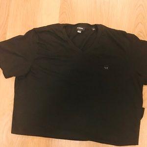 Diesel v neck t shirt size medium